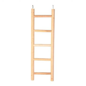 Pet Ting Wooden Ladder - 5 Steps